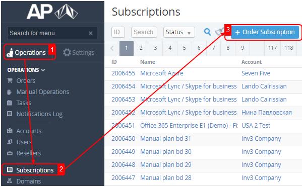 Ordering a SSL Certificate Subscription - ActivePlatform. Operator ...